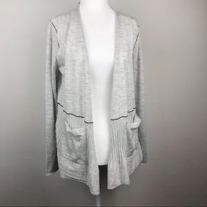 Paychi Guh 100% Cashmere Open Back Cardigan S/M